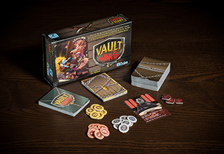 Vault Wars - Box and Components